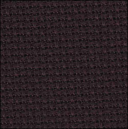 "Aida 14 Count Black 15"" x 18""/38.1 cm x 45.7 cm 1436-853-BX from the Charlescraft Gold Standard Line."