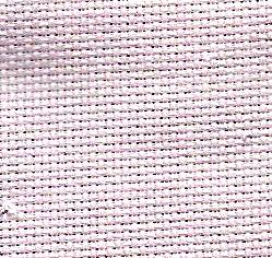 "Aida 14 Count Medium Pink 12"" x 21""/33 cm x 73.7 cm 3706/406 from Zweigart."