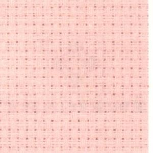 "Aida 14 Count Medium Pink 18"" x 21""/45.7 cm x 53.3 cm 3706/406 from Zweigart."