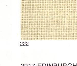 "Dublin Linen 25 Count Cream #3604/222 18""x26"""