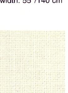 Monaco 28 Count Antique White 2 Yards of Even Weave Fabric