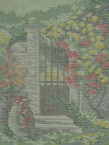 AMC 27817 Parktor Needlepoint Canvas