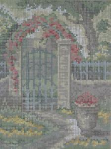 AMC 27818 Botanischer Garten/Botanical Garden Needlepoint Canvas