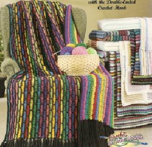American School of Needlework 1331 Scrap Afghans