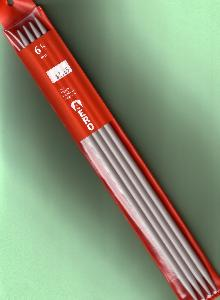 "Aero 12""/30cm 6.5mm/U.S. 10.5 Double Point Needles"