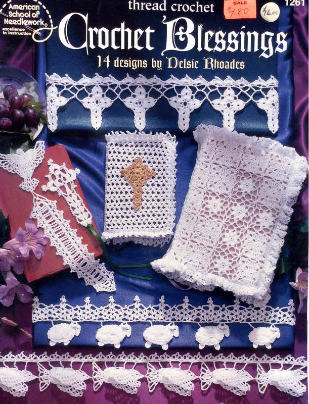 American School of Needlework 1261 Crochet Blessings Thread Crochet