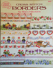 American School of Needlework 3527 Cross Stitch Borbers by Sam Hawkins