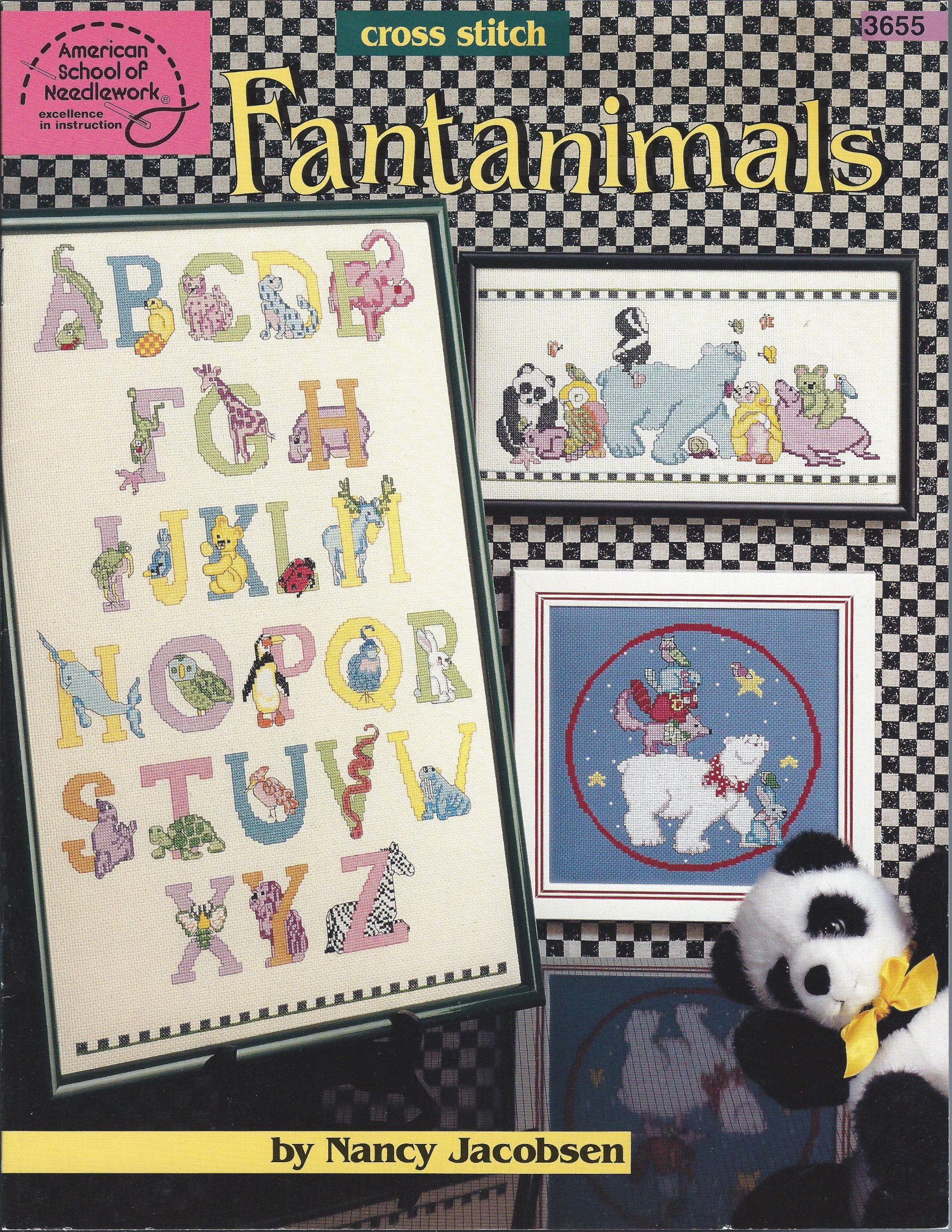 American School of Needlework 3655 Fantanimals by Nancy Jacobsen
