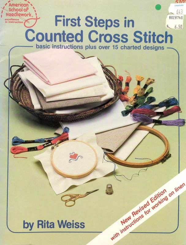 American School of Needlework 5103 First Steps in Counted Cross Stitch