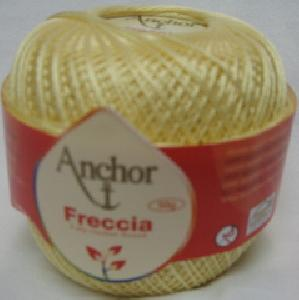 Anchor Freccia 0300 Light Yellow Size 10 Crochet 100% Mercerized Cotton