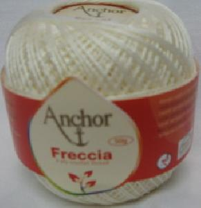 Anchor Freccia 6650 Cream Size 10 Crochet 100% Mercerized Cotton