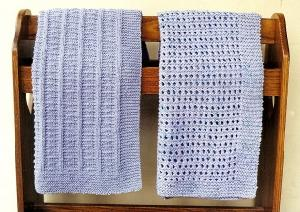 Ann Norling 39 Knitted Crib/Blanket/Afghan