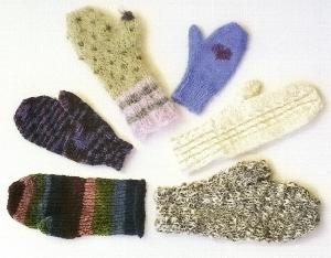 Ann Norling 8 Basic Mittens on 4 Needles