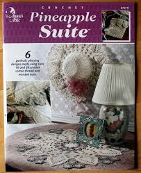 Annie's Attic 872711 Crochet Pineapple Suite