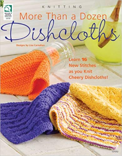 Annie's Knitting 121052 More Than a Dozen Dishcloths by Lisa Carnahan