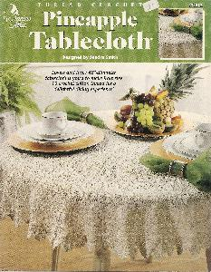 Annie's Attic 872012 Pineapple Tablecloth