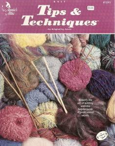 Annie's Attic 872593 Knit Tips & Techniques