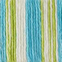 Bernat Handicrafter 4223 Mod Stripes 1.5 ounce or 42.5 gram ball. 100% Cotton.
