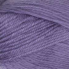 Bernat Satin 4309 Lavender made with acrylic.