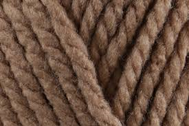 Bernat Softee Chunky 28011 Soft Taupe Knits Beautifully and Is Now A Quicker and Thicker Acrylic