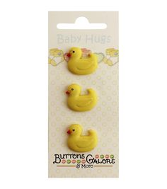 Buttons Galore & More Ducky #121 Baby Hugs Collection