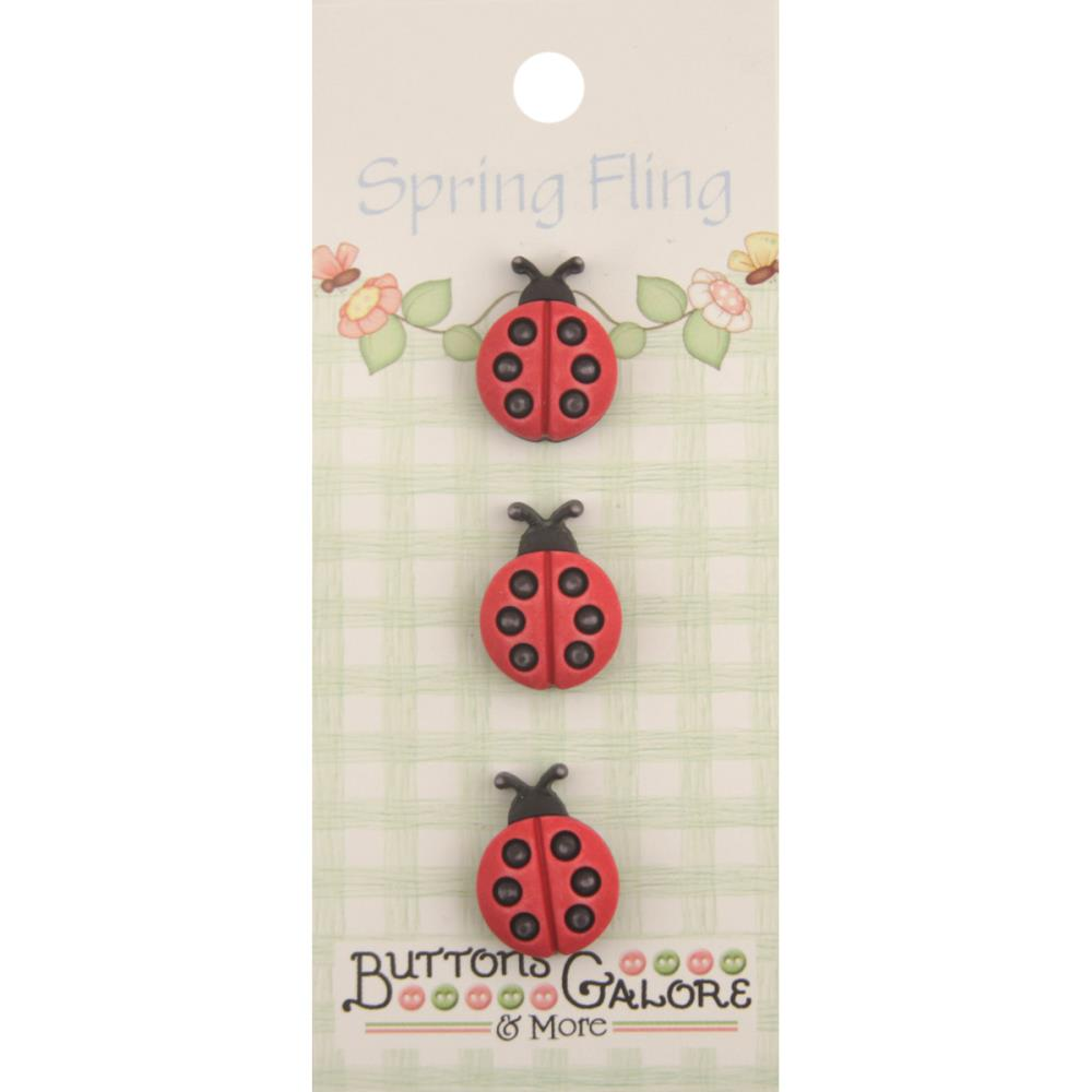 Buttons Galore & More Ladybugs #131 Spring Fling Collection