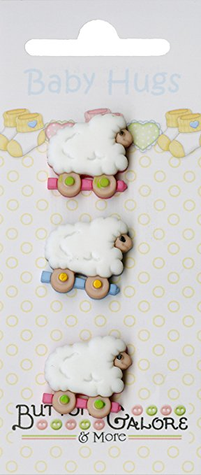 Buttons Galore & More Sheep #122 Baby Hugs Collection