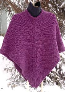 Cabin Fever 075 Knit Poncho