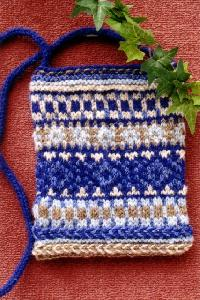 Cabin Fever 701 Knitted Purse