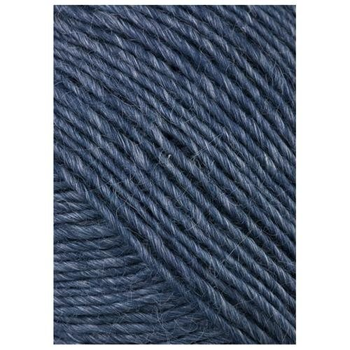 Classic Elite Woodland 3148 Prussian Blue from the Verde Collection made with wool and nettles