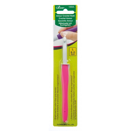 Clover Amour 8.00 mm/US L or 11 Crochet Hook