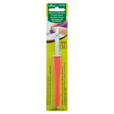 Clover Amour 9.00 mm/US M/N or 13 Crochet Hook