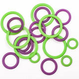 Clover Soft Stitch Ring Markers 3107