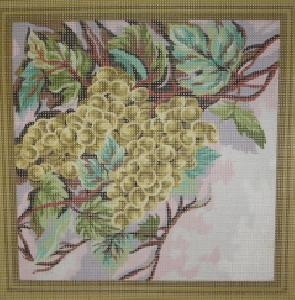 Collection D'Art C 11.377 Grapes Needlepoint Canvas