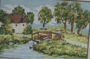 Collection D'Art D-10 Landscape Needlepoint Canvas