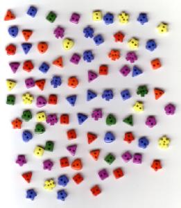 Dress It Up Color Wheel 2215 Miniature Buttons
