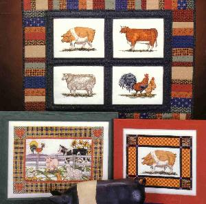 Cross My Heart Inc.CSB 153 Patchwork Farm Animals