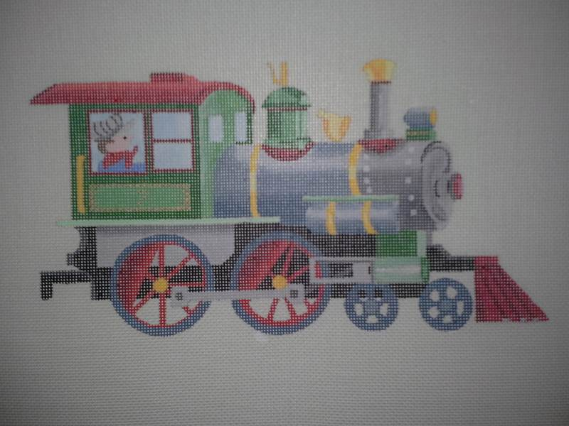 Designing Women Unlimited 3324 Train Needlepoint Canvas