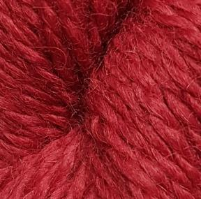 Baby Alpaca Aran 2210 Deep Red by Diamond Luxury Collection
