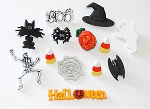 Dress It Up Halloween 2178 Creative Button Assortment
