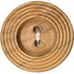 Elan 30 2417A 2 Hole Wood Button (3/card)