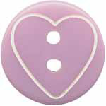 Elan 95 2559Z Mauve Hearts (4/card)
