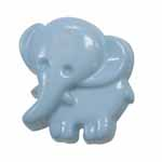 Elan 95 2763K Light Blue Elephant (3/card)