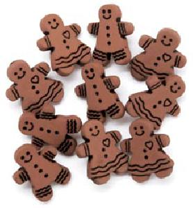 Favorite Findings Gingerbread Cookies Buttons 553