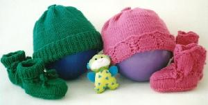 Fiber Trends CH 36-Baby Basics Hats And Booties