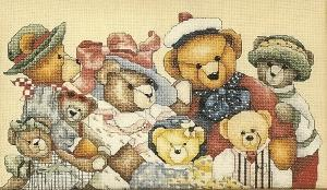 Janlynn 30 302 Bear Collector(Chart Only)