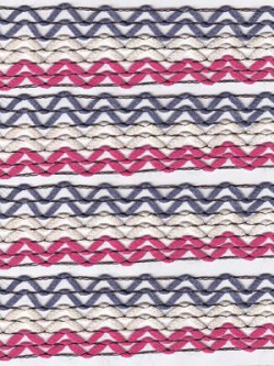 Katia Martinica 202 Pink, White, & Periwinkle Fancy Yarn Use For Scarves, Sweaters, and Much More