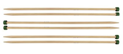 "Knitter's Pride 10""/25 cm 3.00 mm/US 2.5 Bamboo Pairs"