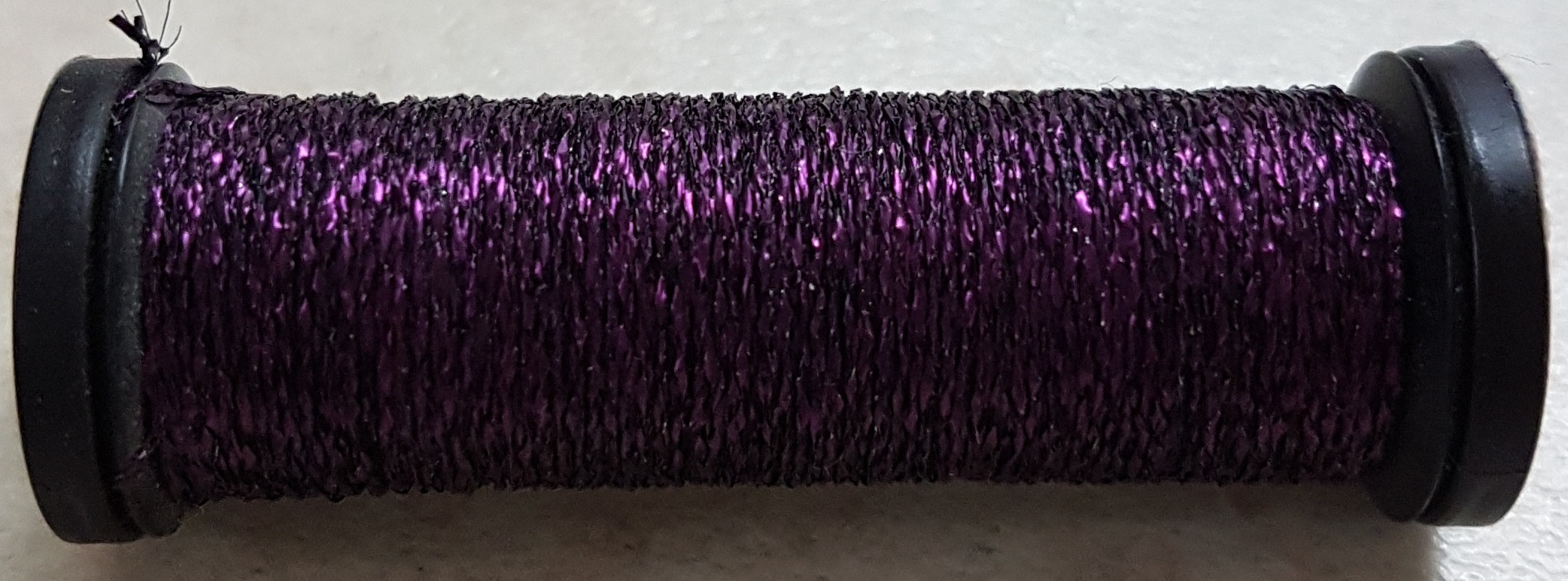 Kreinik 4 Very Fine Braid 026V Amethyst 11 meters/12 yards
