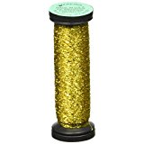 Kreinik Blending Filament 028 Citron 50 meters/55 yards per spool